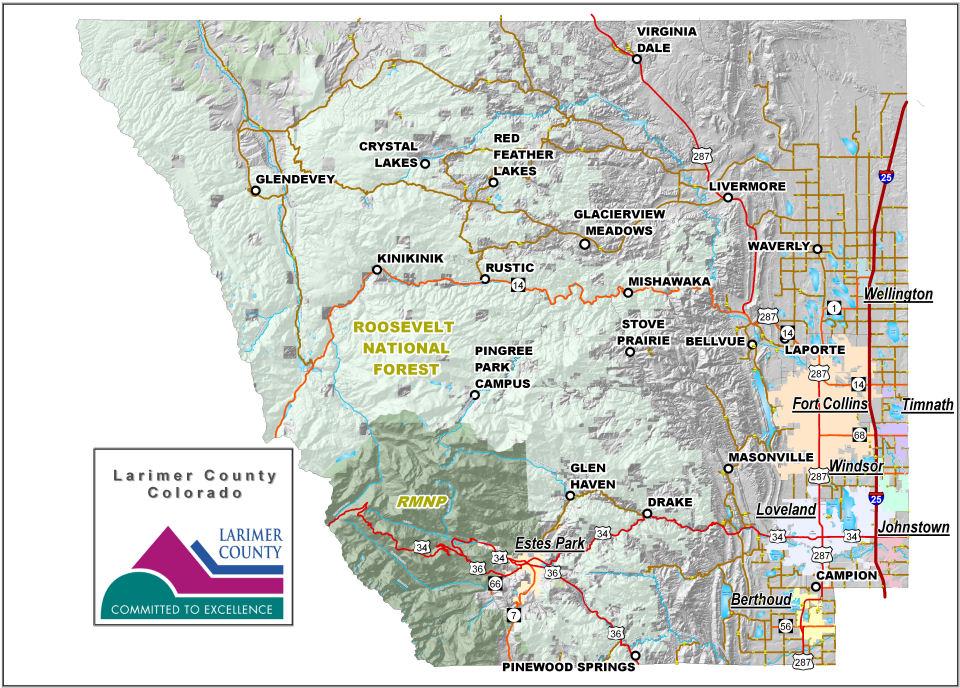 Larimer County Maps