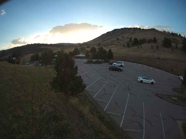Horsetooth Mountain Open Space Upper Lot Webcam