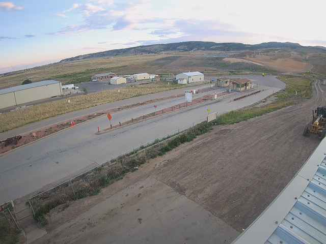 webcam from landfill
